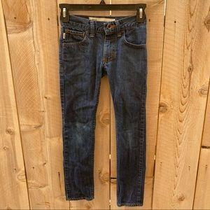 Vans size 8 s boys skinny jeans